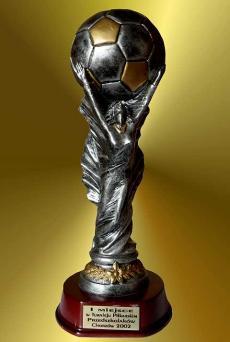 I MIEJSCE - w Turnieju Piłkarskim Przedszkolaków Chorzów 2002r.
