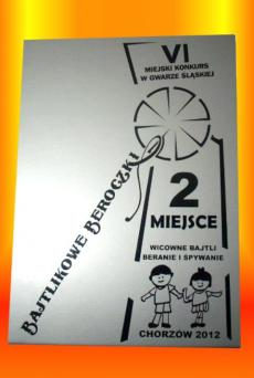 II MIEJSCE -  Wicowne Bajtli Beranie i Śpywanie Chorzów 2012r.